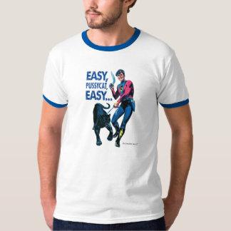 Camisa do menino e do Khem T da ação