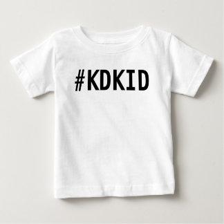 Camiseta Para Bebê Camisa do miúdo de KD