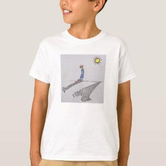 Camisa do miúdo do anjo-da-guarda camisetas