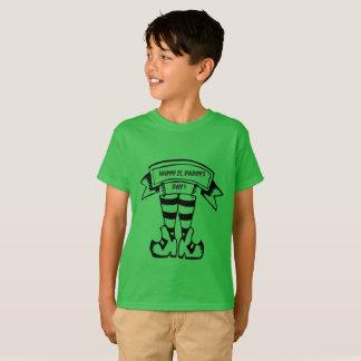 Camisa do miúdo do dia de St.Paddy