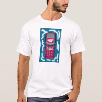 Camisa do móbil da melancia da sarja de Nimes de