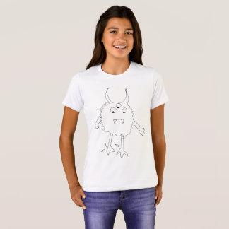 Camisa do monstro dos Squiggles