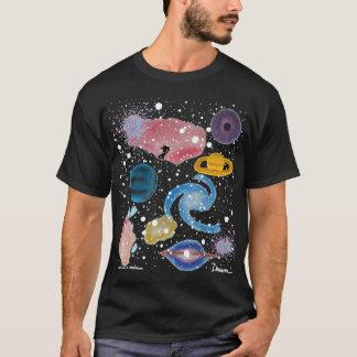 Camisa do montagem da astronomia