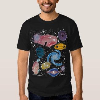 Camisa do montagem da astronomia camiseta