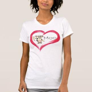 Camisa do MOO do amor Camisetas