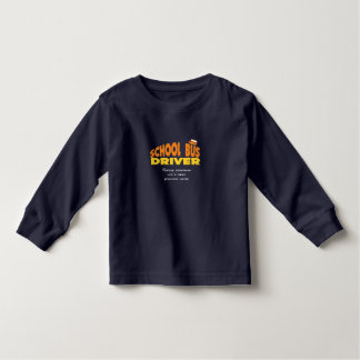 Camisa do motorista de auto escolar