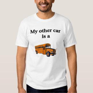 Camisa do motorista de auto escolar camiseta