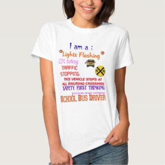 camisa do motorista de auto escolar t-shirts