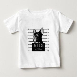 Camisa do Mugshot do buldogue francês