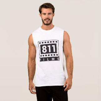 Camisa do músculo do logotipo de 811 filmes