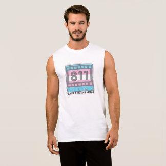 Camisa do músculo do logotipo do transporte de 811