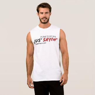 Camisa do músculo do Sayin de Jus