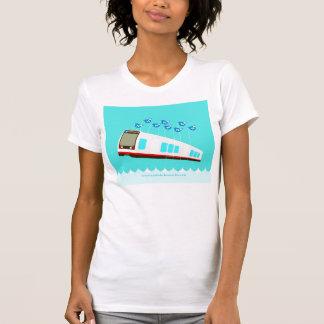 Camisa do N Judah Failwhale T das mulheres