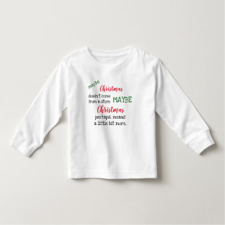 Camisa do Natal da criança