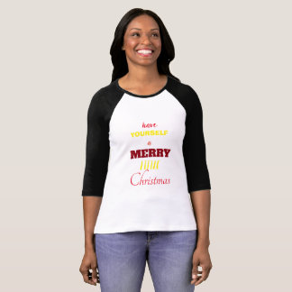Camisa do Natal da Longo-Luva