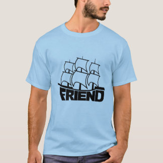 Camisa do navio do amigo