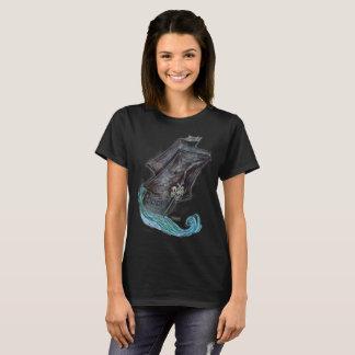 Camisa do navio do fantasma do pirata