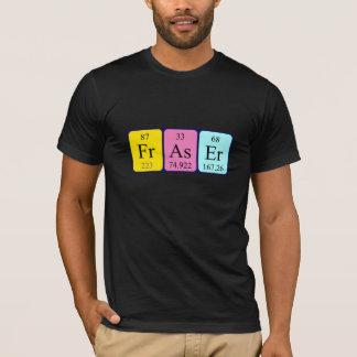 Camisa do nome da mesa periódica de Fraser