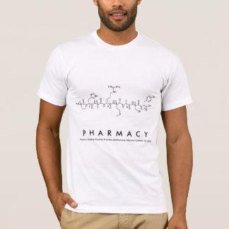 Camisa do nome do peptide da farmácia