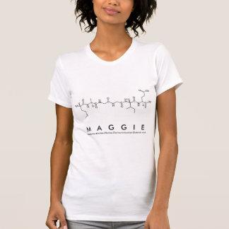 Camisa do nome do peptide de Maggie