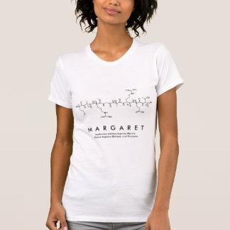 Camisa do nome do peptide de Margaret