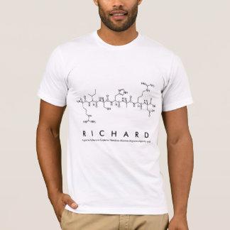 Camisa do nome do peptide de Richard