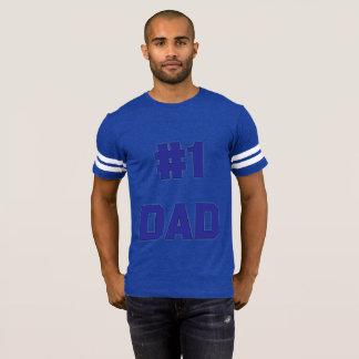 Camisa do número um para o pai (AZUL)