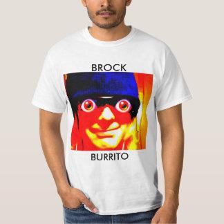 Camisa do oficial do Burrito de Brock