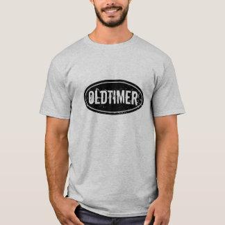 Camisa do oldtimer t do vintage para homens