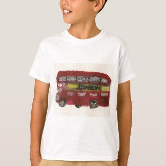 Camisa do ônibus T de Londres para miúdos