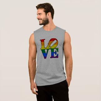 Camisa do orgulho do amor