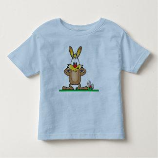 Camisa do ovo do coelhinho da Páscoa Tshirt