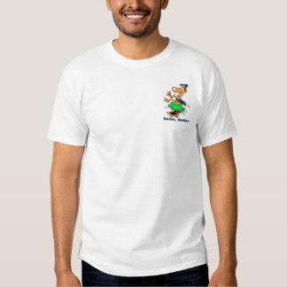 Camisa do padrinho de casamento camisetas