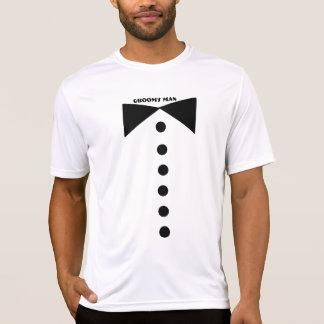 Camisa do padrinho de casamento camiseta