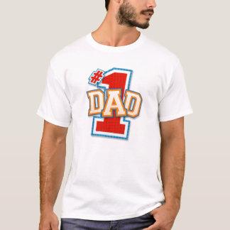 Camisa do pai do número um