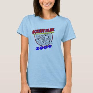 camisa do parque do ocelot das senhoras