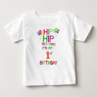 Camisa do partido de primeiro aniversario T -