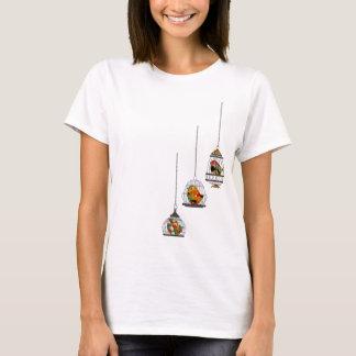 Camisa do pássaro do Birdcage do vintage
