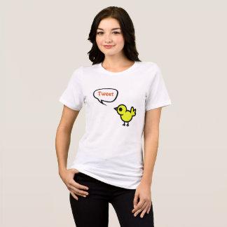 Camisa do pássaro do Tweet