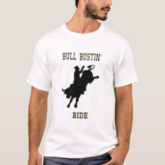 Camisa do passeio de Bull Bustin