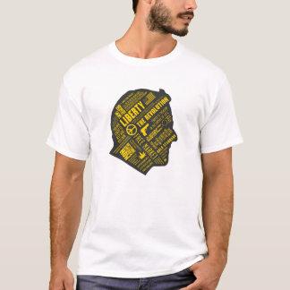 Camisa do pensamento abstrato do libertário de Ron