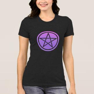 Camisa do Pentagram das mulheres