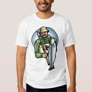 Camisa do pescador t-shirts
