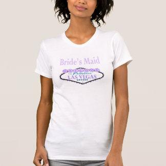 Camisa do pescoço da colher do Lilac de Las Vegas