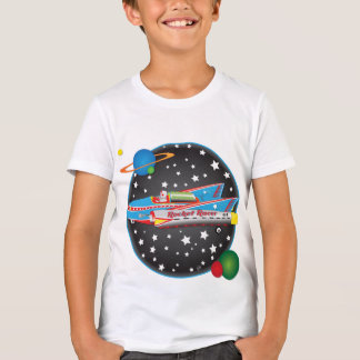 Camisa do piloto T de Rocket