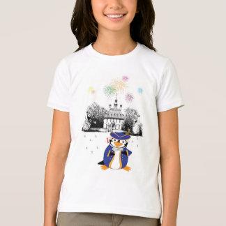 Camisa do pinguim do Doodle do ianque