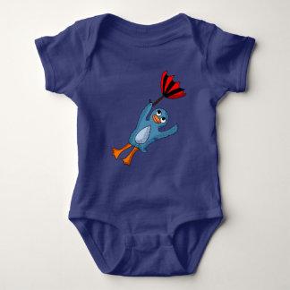 Camisa do pinguim do vôo