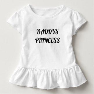 Camisa do plissado do bebé do co da forma dos