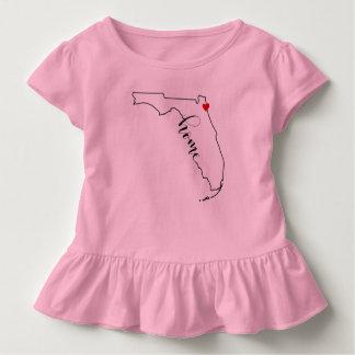 Camisa do plissado Jacksonville do miúdo Home de