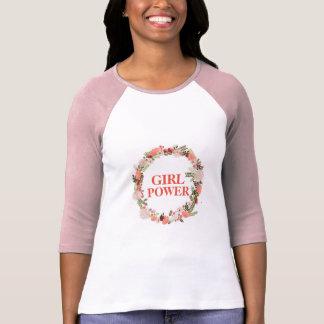 Camisa do poder da menina
